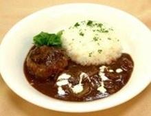 鹿肉のハンバーグステーキ.JPG